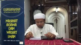 Pengajian Kitab Nasihat Agama Dan Wasiat Iman - SiRi 21