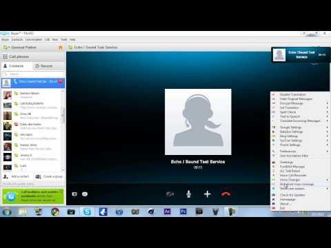 Skype Voice Changer Tutorial (Download Link)