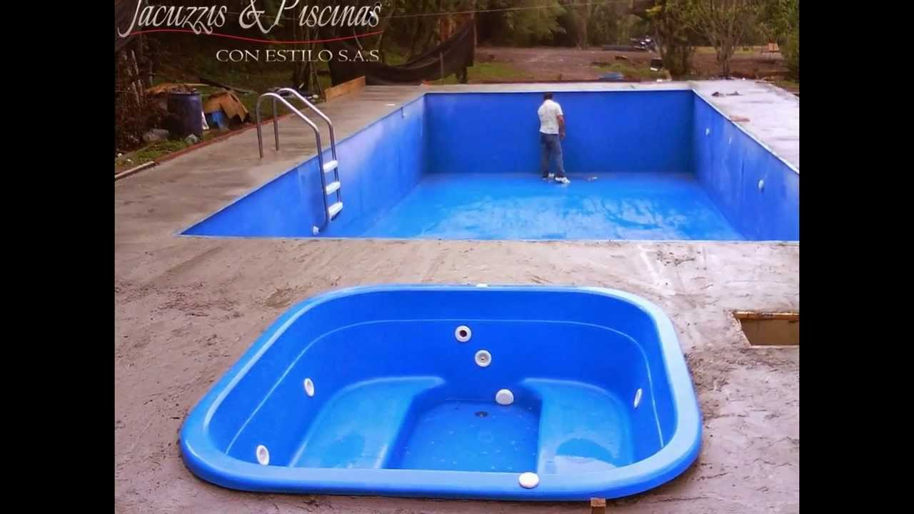 fabricacion de piscinas en colombia youtube