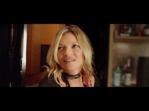 Kate Moss celebrates 15 years with Rimmel by getting ready for a night out