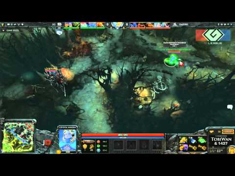 Team Empire vs Evil Geniuses Game 3 Part 1 - DOTA 2 G-League Euro Qualifier - TobiWan & 1437