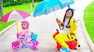 Rain Rain Go Away Song Nursery Rhymes for Kids Family Fun