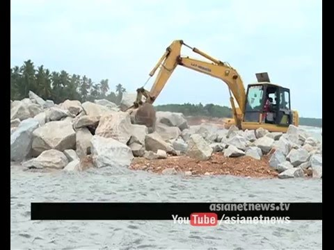 Vizhinjam Harbour breakwater construction progressing