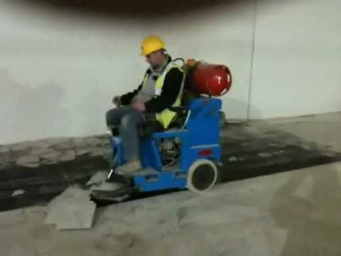 bronco floor stripping machine
