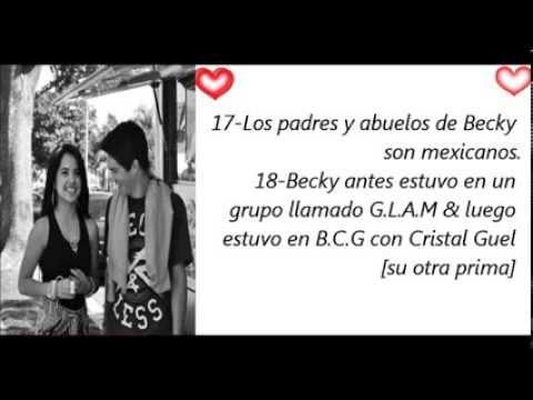 Cosas que tienes que saber de Becky G♥