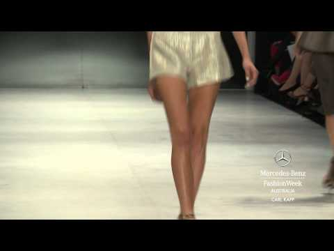 CARL KAPP - MERCEDES-BENZ FASHION WEEK AUSTRALIA SPRING SUMMER 2012/13 COLLECTIONS