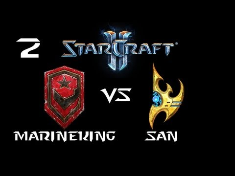 StarCraft 2 - MarineKing [T] vs San [P] G2 (Commentary)