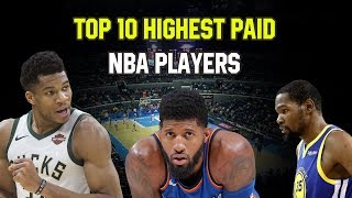 Top 10 Highest Paid NBA Players in 2019