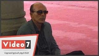 بالفيديو.. محمد صبحى وفاروق الفيشاوى وجلال الشرقاوى ورشوان توفيق فى جنازة خليل مرسى