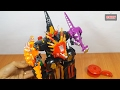 Lắp ráp Robot siêu nhân khủng long dinosaur power ranger megazord toy for kids bootleg thumbnail