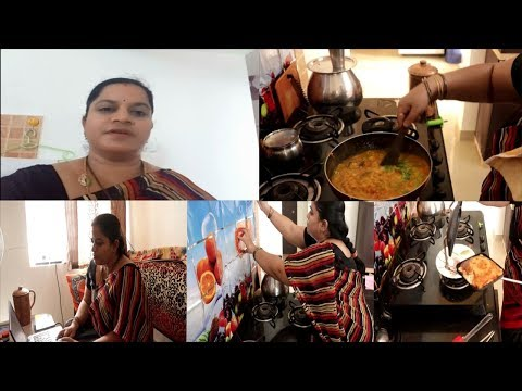 EVENING ROUTINE||SANDWICH||DAL TADKA IN TELUGU||RAMA SWEET HOME