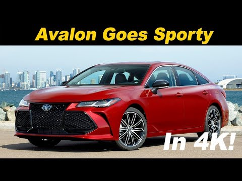 2019 Toyota Avalon First Drive Review - In 4K