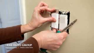 Install a Single Pole Dimmer Switch | The Elite Group Property Inspections