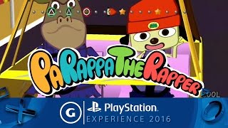 PaRappaTheRapper 20th Anniversary Reveal Trailer | PSX 2016
