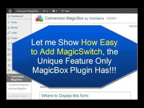 0 Conversion MagicBox Wordpress Plugin to Help Increase Conversions & Responses
