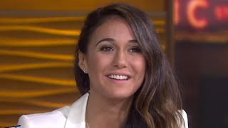 Emmanuelle Chriqui Talks