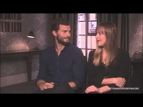 Dakota Johnson and Jamie Dornan Interview - Fifty Shades of Grey [Part 3]