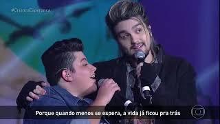 Ouça Criança Esperança - Luan Santana + Ana Vilela Trem Bala - 19082017