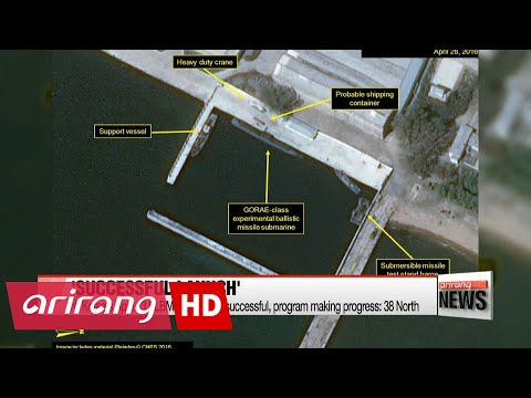N. Korea's SLBM launch successful: 38 North