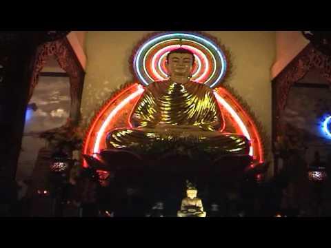 Lễ Hoa Đăng Vía Phật A Di Đà - Chùa Hưng Phước