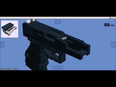 lego glock 18 instructions