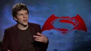 Why jesse eisenberg will never watch batman vs superman