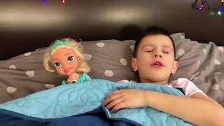 Lika and Marik play with Baby doll Video for Children Kids JoyJoy Lika