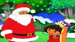 Dora The Explorer : Christmas games for kids Full episodes English