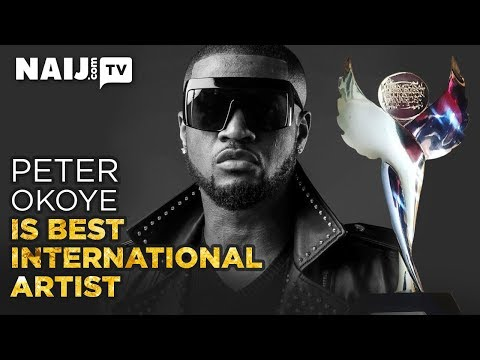 Nigeria News Today: Peter Okoye - Receiving His First Major Award For His Solo Act | Naij.com TV