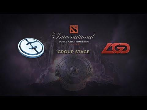 EG -vs- LGD, The International 4, Group Stage, Day 1
