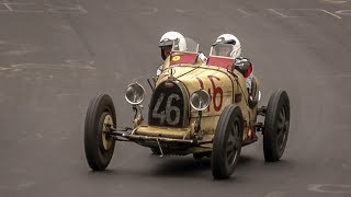 Pre-War & Vintage Cars on the Nürburgring Nordschleife - Early 1900s Bugatti   BMW   Fiat   MG   etc