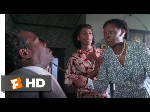 The Color Purple (4/6) Movie CLIP - Celie Stands up to Albert (1985) HD