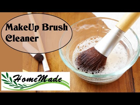 Makeup Brush Cleaner: Detergente Pennelli da Makeup fai da te - due ricette