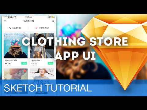 Sketch 3 Tutorial • Clothing Store App UI (iOS) • Sketchapp Tutorial & Design Workflow
