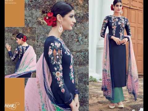 SURAT TEXTILE BAZAAR PRESENT   -  HEER 16 DESIGNER DRESSES