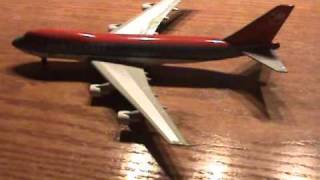 Jet-X Northwest 747-200 Unboxing