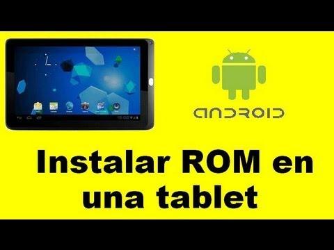 ANDROID   Instalar una Rom en una tablet