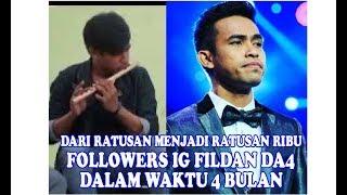 WOW!! Dalam 4 Bulan Followers Fildan DA4 Baubau dari Ratusan Ketka Audisi Menjadi Ratusan Ribu