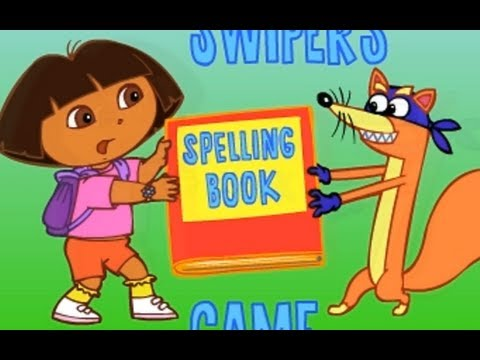 Dora the explorer - Spelling book