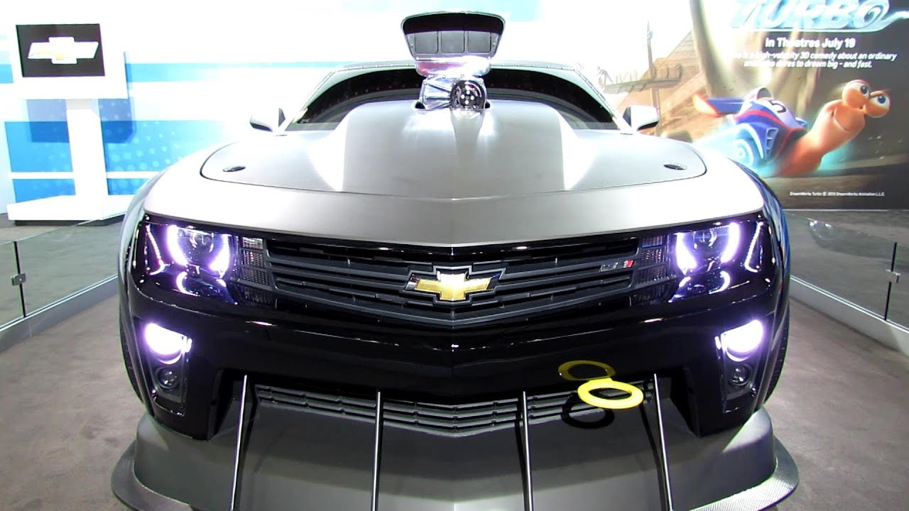 2013 Chevrolet Camaro Zl1 Turbo Coupe Exterior