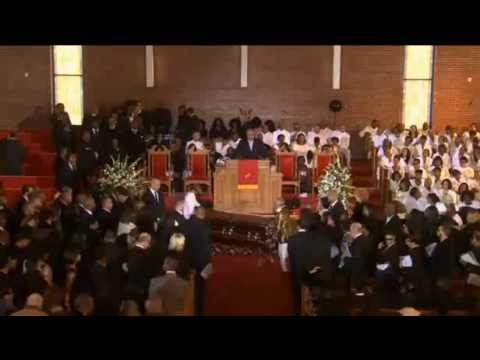 whitney elisebeth houston funeral service 18 february 2012 newark,