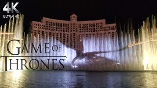 Game of Thrones Bellagio Water Show Las Vegas 2019 #ForTheThrone