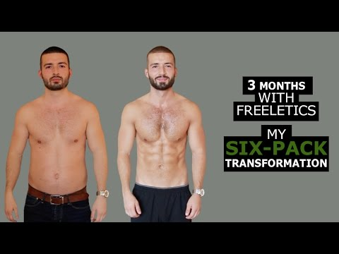 My 15 Weeks Transformation with Freeletics Bodyweight
