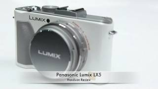 Panasonic Lumix LX5 Hands-on Review
