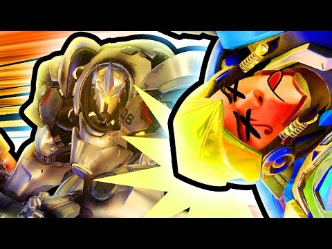 Overwatch FUNNY MOMENTS & Plays - REINHARDT, OUTTA NOWHERE!! [TGN Overwatch]