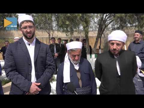 Шейх Абдалла посетил могилы сподвижников