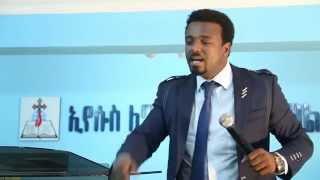 Pastor Kassahun Lemma Preaching - Yeleqet Menfes - Part 1 of 2