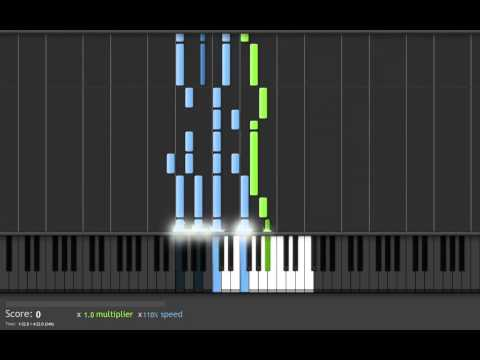 Green Day-21 Guns (easy piano tutorial) [HD]