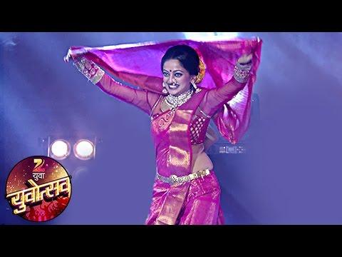 Manasi Naik & Rutuja Shinde HOT Dance Performance At Zee Yuvotsav 2016