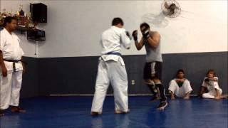 Practika Kumite MMA vs. Kyokushin Karate